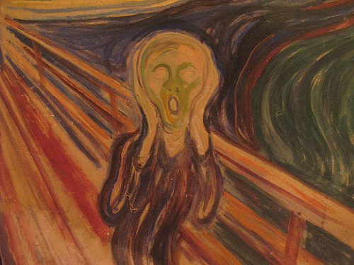 """The Scream"" by artist Edvard Munch.Credit: Christopher Macsurak's Flickr stream"