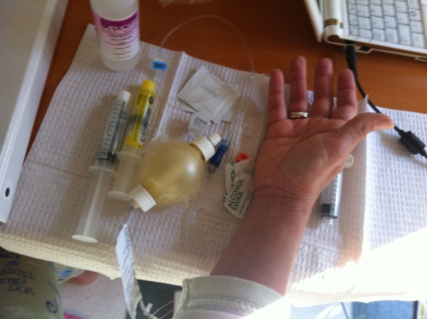 IV treatment. Pills. More pills. I can't believe I made it through all that. When it could have been avoided...